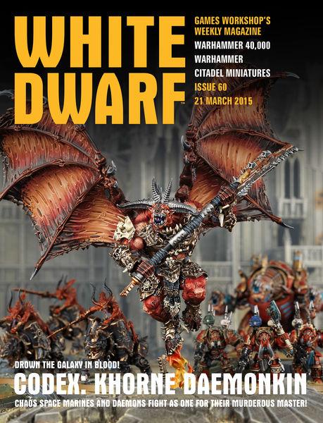 White Dwarf Issue 60: 21st March 2015
