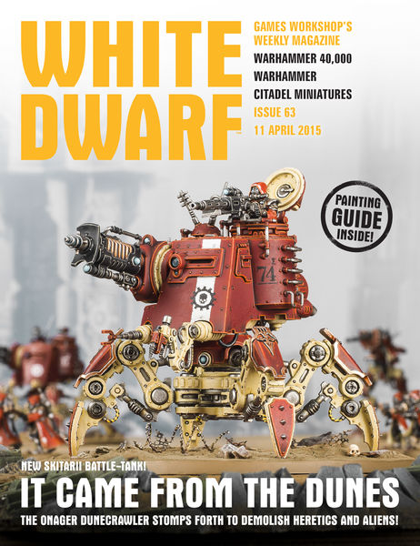 White Dwarf Issue 63: 11th April 2015