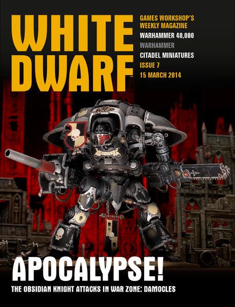 White Dwarf Issue 7: 15 March 2014