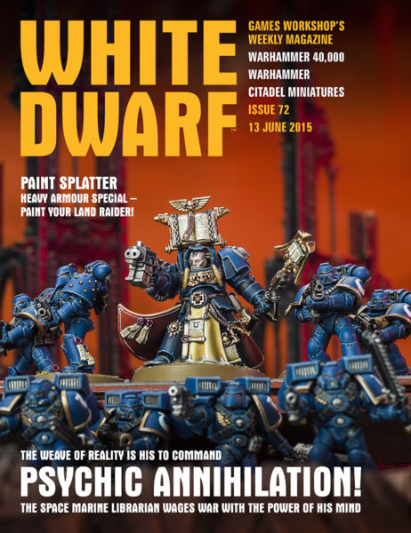 White Dwarf Issue 72: 13th June 2015