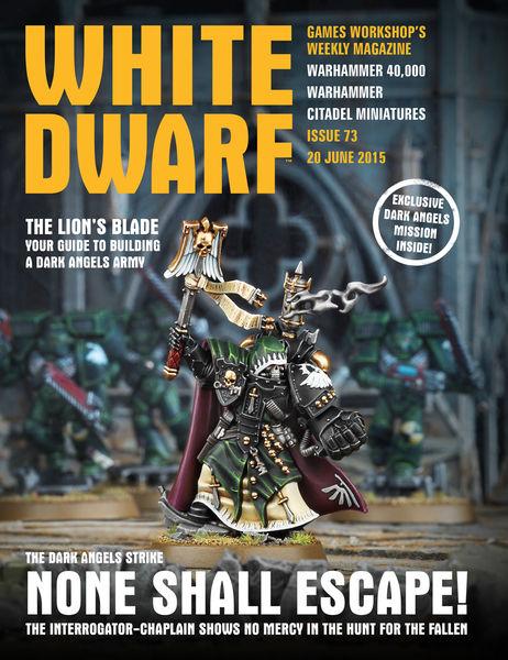 White Dwarf Issue 73: 20th June 2015