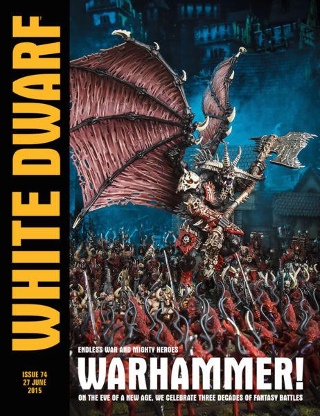 White Dwarf Issue 74: 27th June 2015
