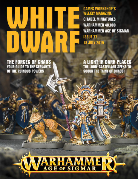 White Dwarf Issue 77: 18th July 2015