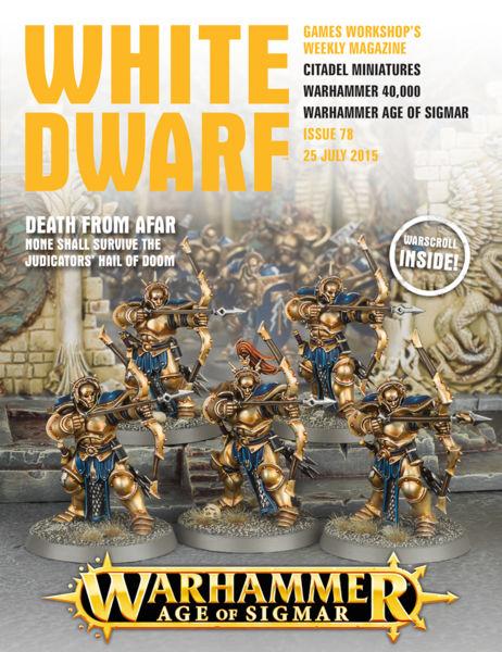 White Dwarf Issue 78: 25th July 2015