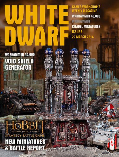 White Dwarf Issue 8: 22 March 2014