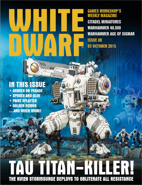 White Dwarf Issue 88: 03rd October 2015 (Tablet Ed...