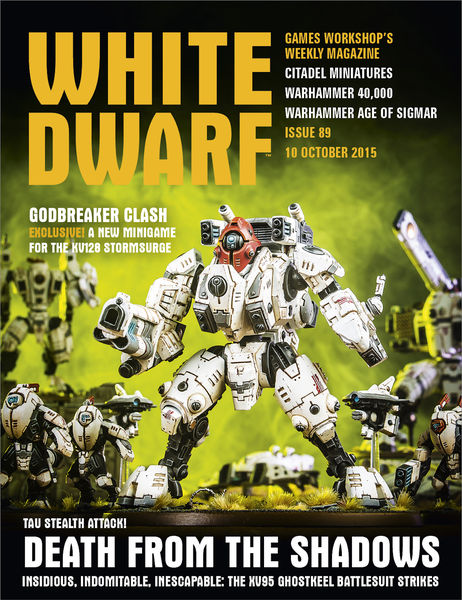 White Dwarf Issue 89: 10th October 2015 (Tablet Ed...