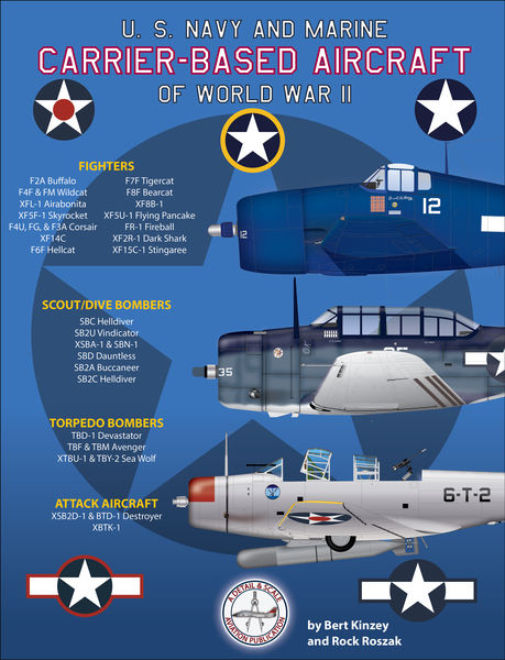 U. S. Navy and Marine Carrier-Based Aircraft of Wo...