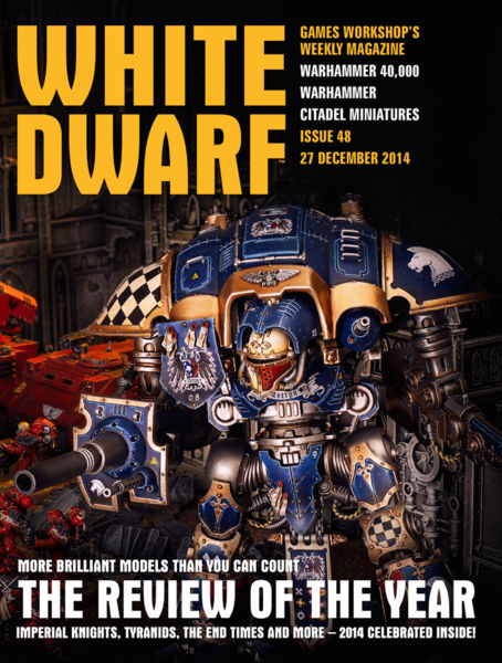 White Dwarf Issue 48: 27 December 2014