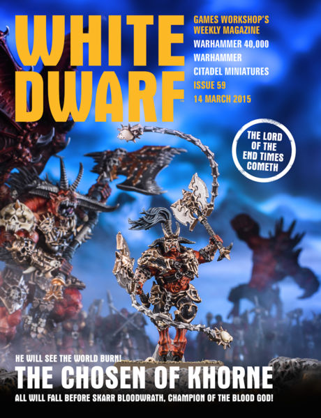 White Dwarf Issue 59: 14th March 2015