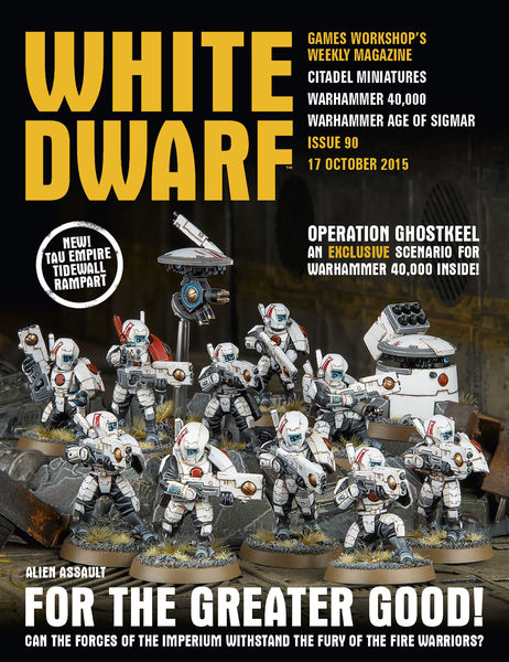 White Dwarf Issue 90: 17th October 2015 (Tablet Ed...