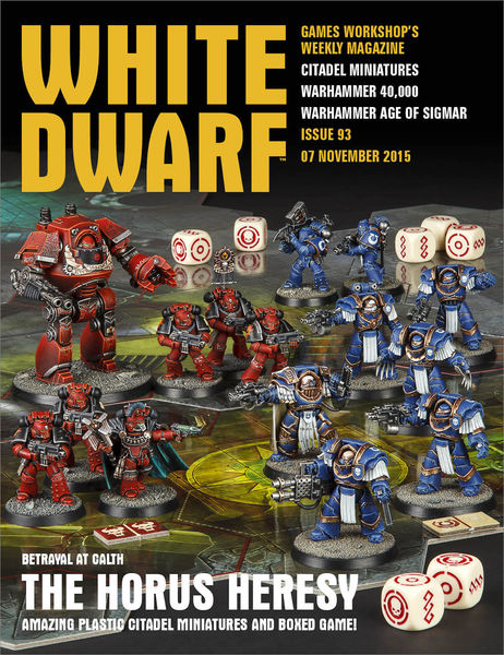 White Dwarf Issue 93: 07th November 2015 (Tablet E...