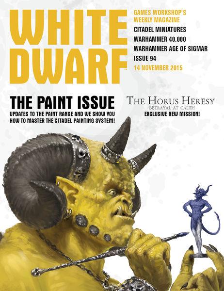 White Dwarf Issue 94: 14th November 2015 (Tablet E...
