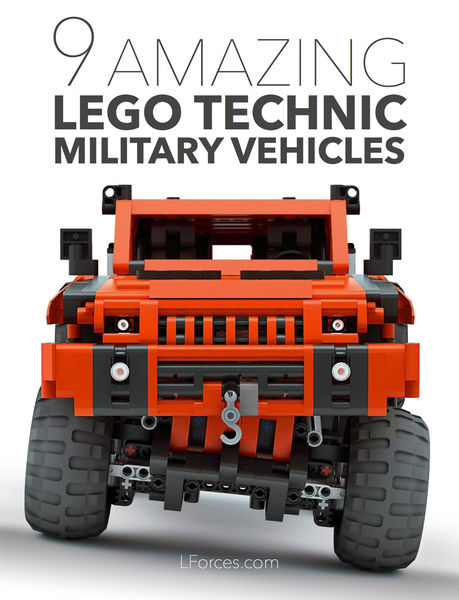 9 Amazing Lego Technic Military Vehicles