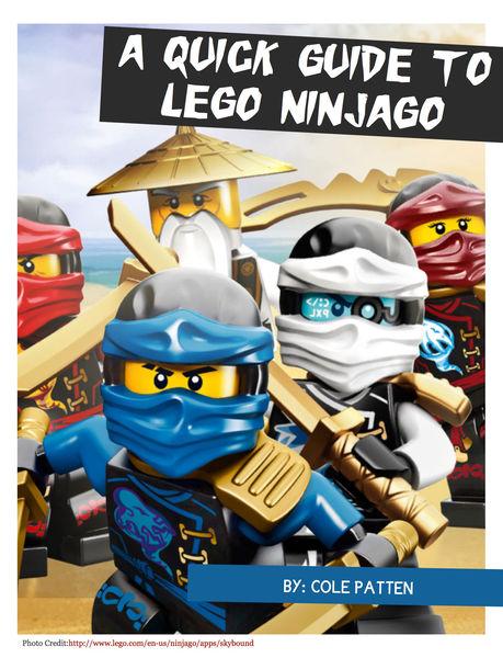 A Quick Guide to Lego Ninjago