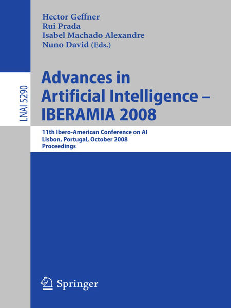 Advances in Artificial Intelligence - IBERAMIA 200...