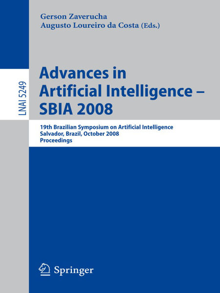 Advances in Artificial Intelligence - SBIA 2008