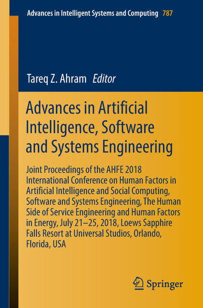 Advances in Artificial Intelligence, Software and ...