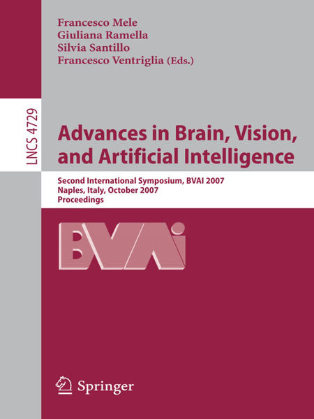 Advances in Brain, Vision, and Artificial Intellig...