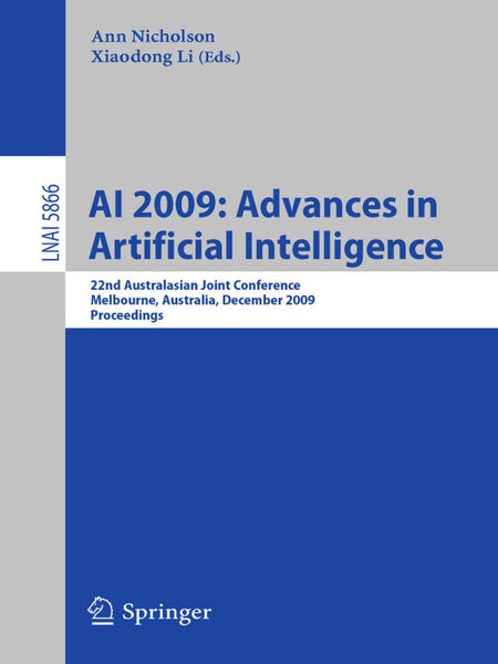 AI 2009: Advances in Artificial Intelligence