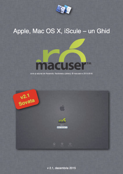 Apple, Mac OS X, iScule - un Ghid Macuser.ro
