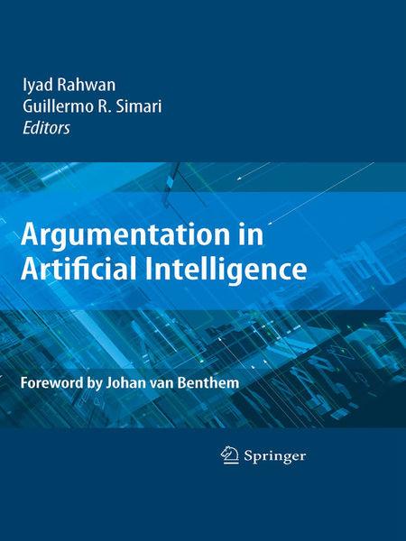 Argumentation in Artificial Intelligence