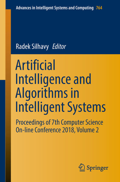 Artificial Intelligence and Algorithms in Intellig...