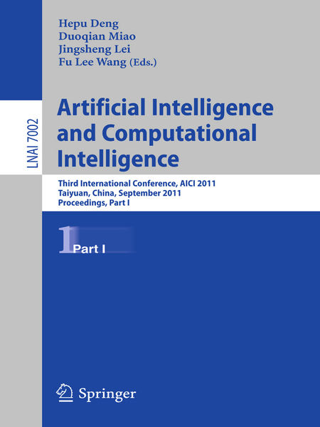 Artificial Intelligence and Computational Intellig...