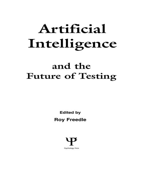 Artificial Intelligence and the Future of Testing