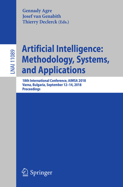 Artificial Intelligence: Methodology, Systems, and...