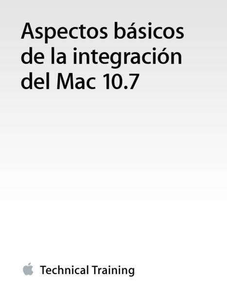 Aspectos básicos de la integración del Mac 10.7