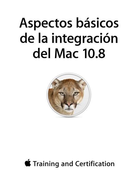 Aspectos básicos de la integración del Mac 10.8
