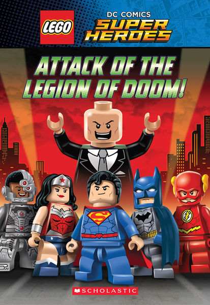 Attack of the Legion of Doom! (LEGO DC Super Heroe...