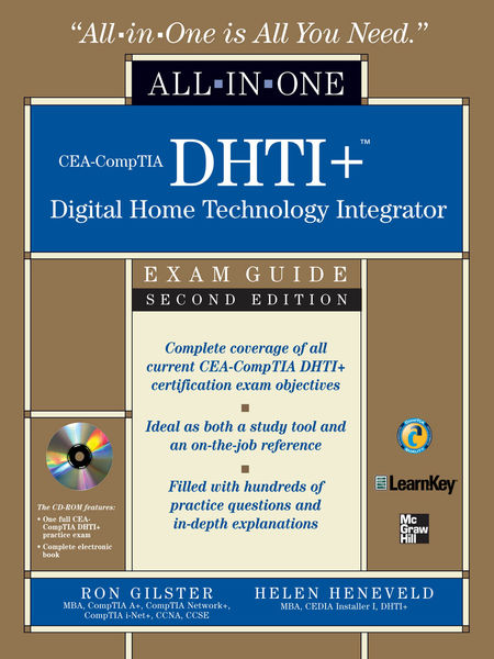 CEA-CompTIA DHTI+ Digital Home Technology Integrat...