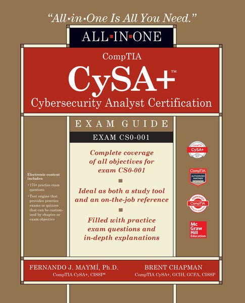 CompTIA CSA+ Cybersecurity Analyst Certification A...