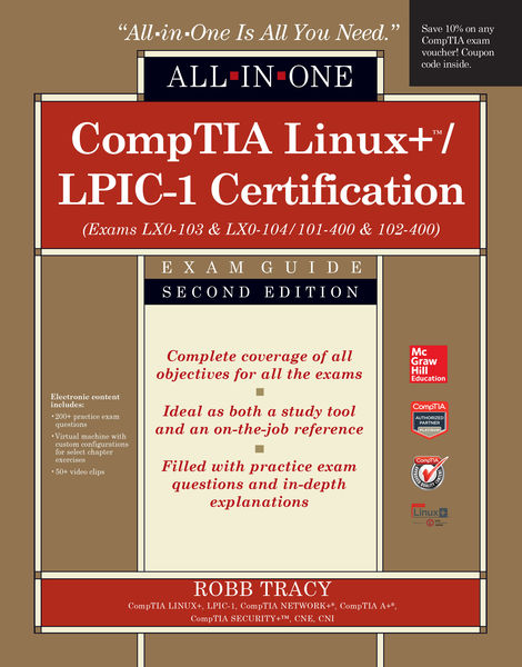 CompTIA Linux+/LPIC-1 Certification All-in-One Exa...