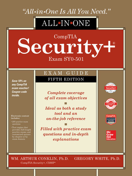 CompTIA Security+ All-in-One Exam Guide, Fifth Edi...