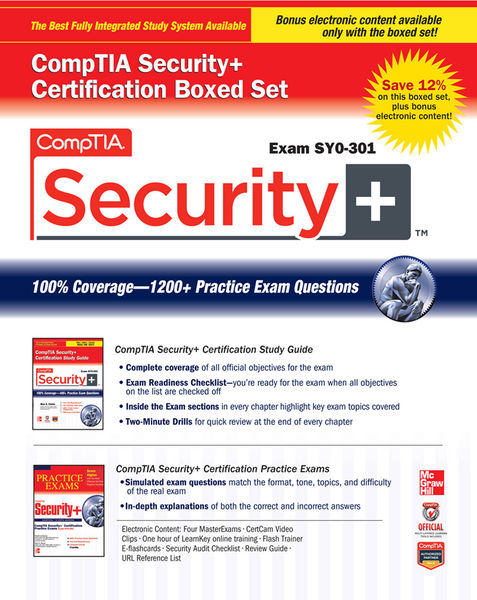 CompTIA Security+ Certification Boxed Set (Exam SY...