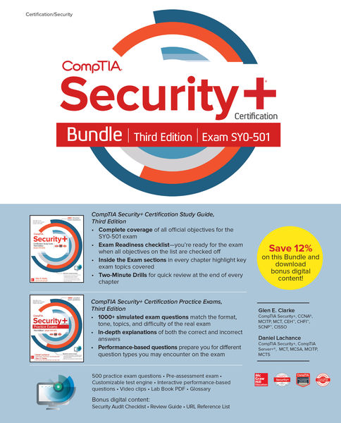 CompTIA Security+ Certification Bundle, Third Edit...