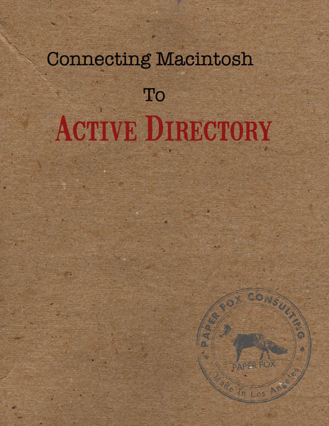 Connect Your Macintosh To Microsoft Active Directo...