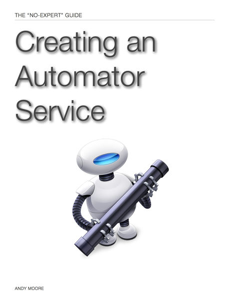 Creating an Automator Service