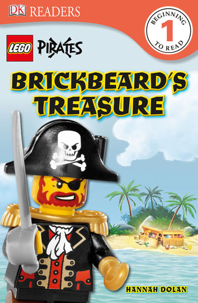 DK Readers L1: LEGO® Pirates: Brickbeard's Treasur...