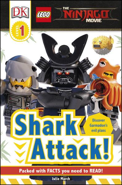 DK Readers L1: The LEGO® NINJAGO® MOVIE™: Shark At...