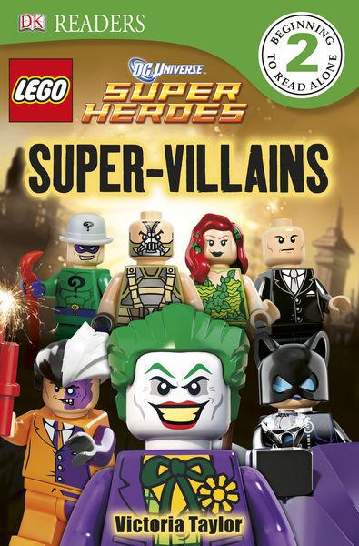 DK Readers L2: LEGO DC Super Heroes: Super-Villain...
