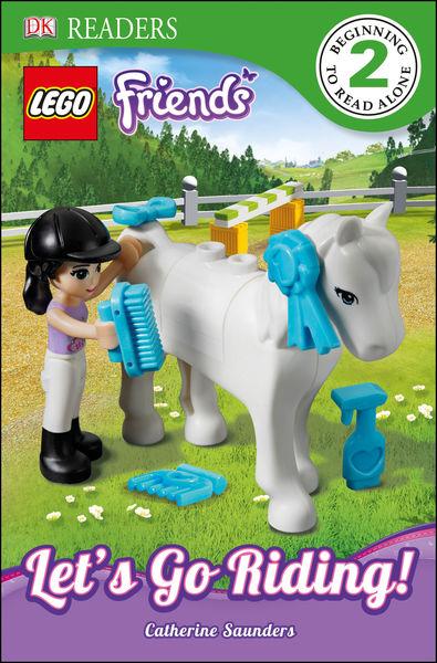 DK Readers L2: LEGO Friends: Let's Go Riding! (Enh...