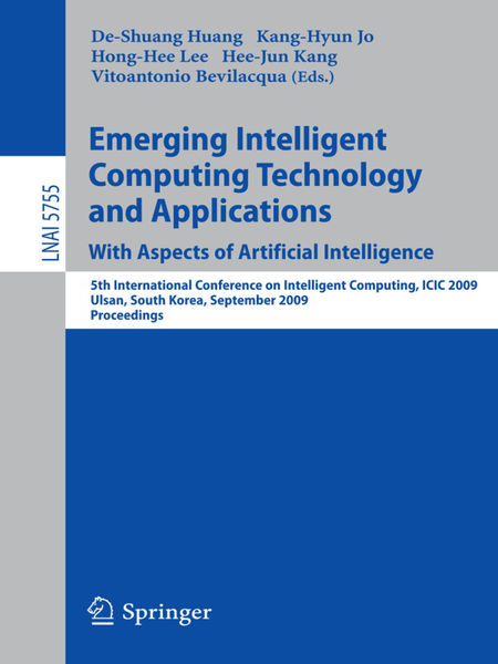 Emerging Intelligent Computing Technology and Appl...