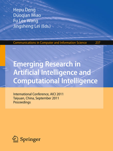 Emerging Research in Artificial Intelligence and C...