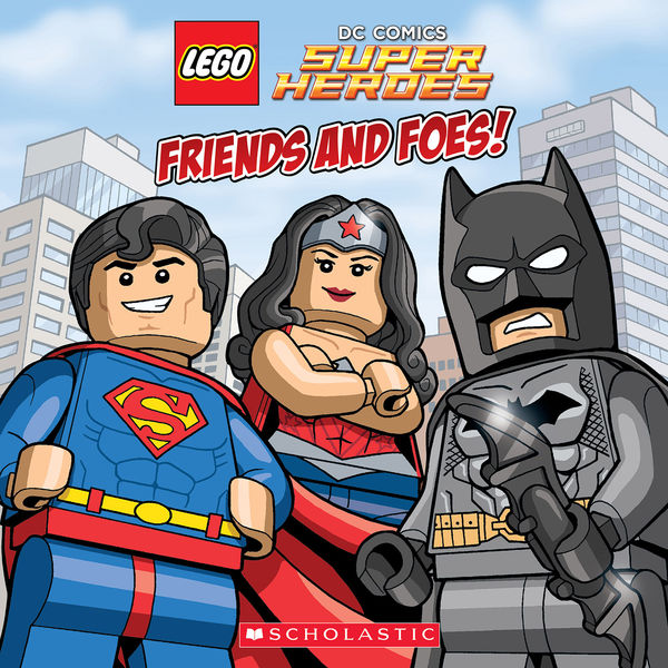 Friends and Foes! (LEGO DC Super Heroes)