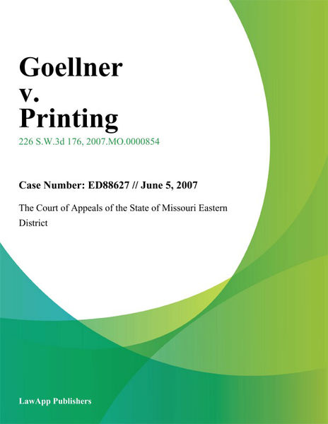 Goellner v. Printing