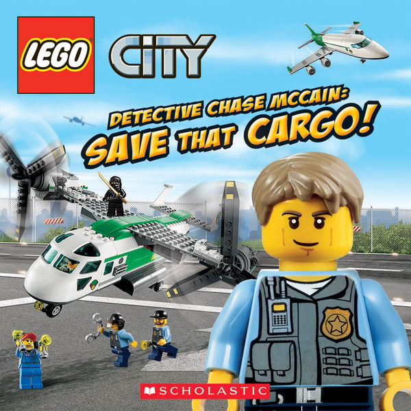 LEGO City: Detective Chase McCain: Save That Cargo...